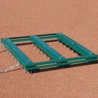 Big League Infield Nail Drag, 3'W x 3'L