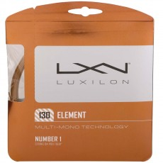 Luxilon Element 16/1.30mm Tennis String, Bronze, 40'
