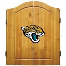 Jacksonville Jaguars NFL Dartboard Cabinet Set