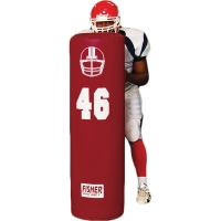 "Fisher SUD-5416 Stand up Football Dummy, 16"" Dia., 54""H"