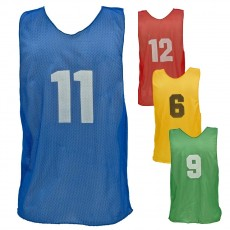 Champion YOUTH Numbered Scrimmage Vest Pinnies, PSYN