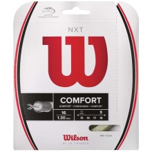 Wilson NXT 16/1.30mm Tennis String, 40'