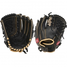 "Rawlings 12.5"" Shut Out Finger Shift Fastpitch Softball Glove, RSO125BCCF"
