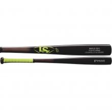 Louisville Y271 Youth Prime Maple Wood Baseball Bat, Black/Neon, WTLWYM271B17+G