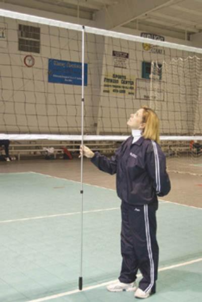chair volleyball net. chair volleyball net