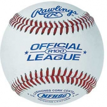 Rawlings R100NF College/NFHS Baseballs, dz