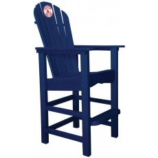 Boston Red Sox NFL Outdoor Pub Captains Chair, NAVY