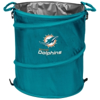 Miami Dolphins NFL Collapsible 3-in-1 Hamper/Cooler/Trashcan