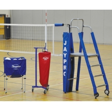 "Jaypro 3-1/2"" STANDARD Featherlite Volleyball Net Package, PVB-5PKG"
