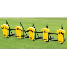 Fisher 5 Man JV Football Blocking Sled - MAN PAD, CL5M