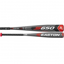 2018 Easton S650 -9 (2-5/8) USA Baseball Bat, YBB18S6509