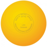 Champro Official Lacrosse Ball w/ NOCSAE Stamp, Yellow (dz)