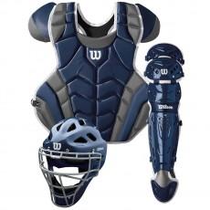 Wilson C1K Adult Baseball Catcher's Gear Kit