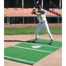 Baseball/Softball Hitter's Turf Mat, 6' x 12', Green