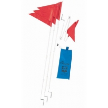 Champion Fold-A-Flag set/4 Folding Soccer Corner Flags, SCF50