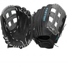 "Easton COREFP 1300BKGY Core Pro Fastpitch Glove, 13"""