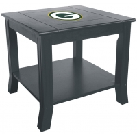 Green Bay Packers NFL Hardwood Side/End Table
