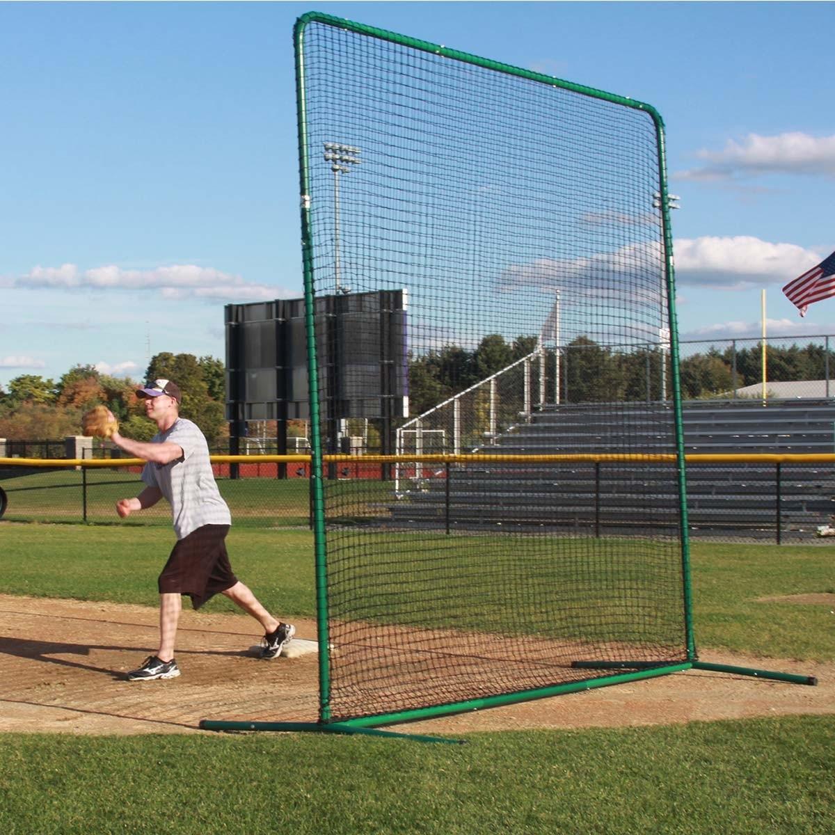 Deluxe Baseball Softball Protective Screen Frame Amp Net 10