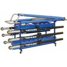 Jaypro Vertical Volleyball Equipment Cart, VEC-1
