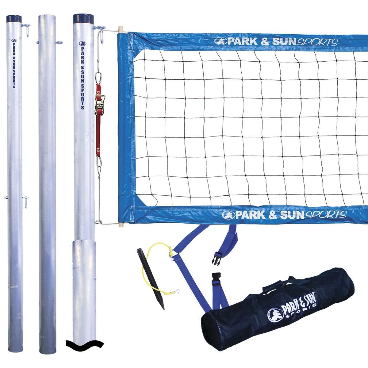 Park Amp Sun 4000t Tournament Outdoor Volleyball Net System