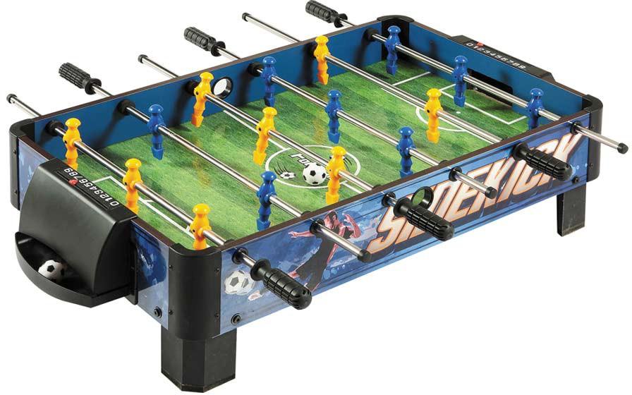 Carmelli Sidekick Table Top Soccer Foosball Table - Wilson foosball table