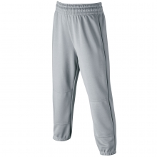 Wilson Elastic Waist Baseball Pants, YOUTH, Gray