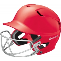 Easton Z5 Solid Batting Helmet w/ BB/SB Mask, JUNIOR