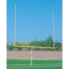 Bison FB45HS-SY Official High School Football Goal Posts, 4-1/2'' dia, YELLOW
