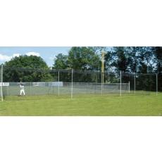 70' Batting Cage Tunnel Frame, 4-Section, Baseball/Softball