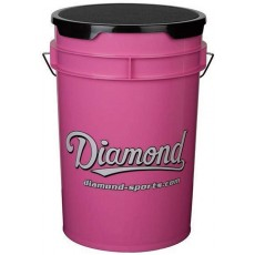 Diamond Pink Softball Bucket