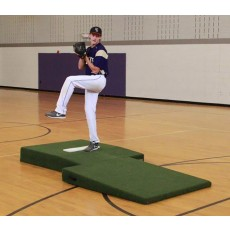 "Proper Pitch 417032 Two-Piece Professional Mound, 9'6""L x 5'4""W x 10""H, Green"