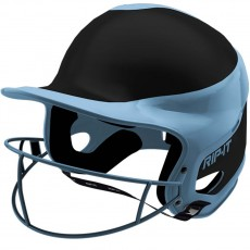Rip-It Fastpitch Batting Helmet, AWAY Extra Small-Light Blue