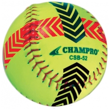 Champro 2/pk Striped Training Softballs, CSB52S