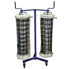 Jaypro DOUBLE, Volleyball Net Storage Cart, VNK22