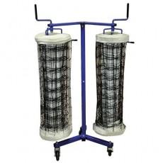 Jaypro VNK22 Volleyball Net Storage Cart, DOUBLE