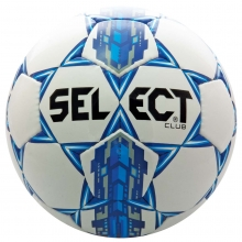 Select Club Soccer Ball, Royal Blue, Size 4