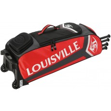 "Louisville EBS7RG6 Series 7 Rig Wheeled Player Equipment Bag, 35"" x 13.5"" x 12"""