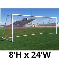 Pro-Bound 8'x24' Quick Kick Official Soccer Goal (ea)