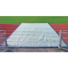 TrackSaver Premium Weighted Track Cover, 14' x 75'