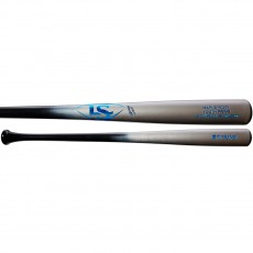 Louisville Y271 Youth Prime Maple Wood Baseball Bat, Silver/Blue, WTLWYM271A17