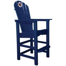 Chicago Bears NFL Outdoor Pub Captains Chair, NAVY