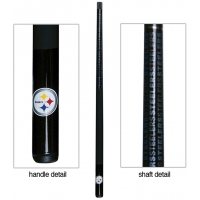 Pittsburgh Steelers NFL Billiards Cue Stick