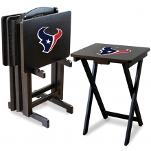 Houston Texans NFL TV Snack Tray/Table Set
