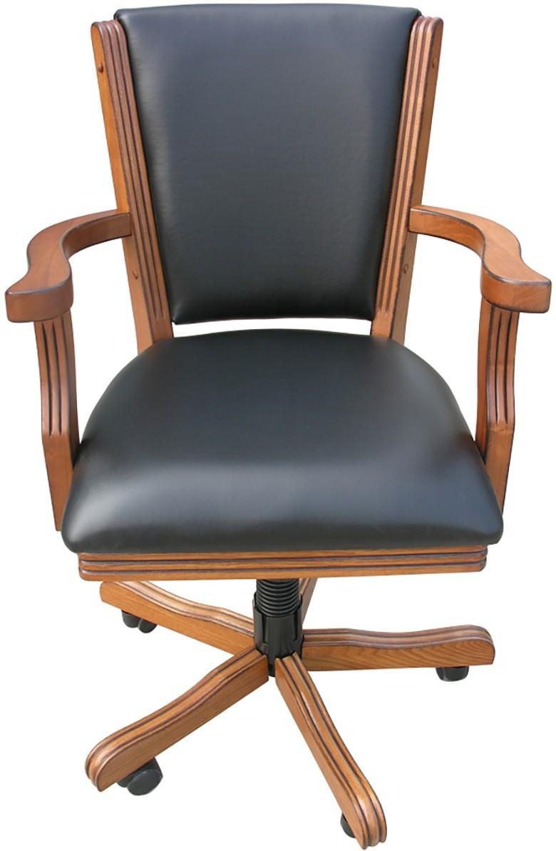 Carmelli Kingston Hardwood Poker Chairs set of 4