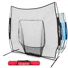 POWERNET 7' x 7' Pop Up Hitting Net in Team Colors