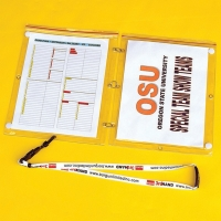 "Fisher THSD Football Coach Third Hand Game Plan Protector, Double 8.5"" x 11"" (2 pack)"
