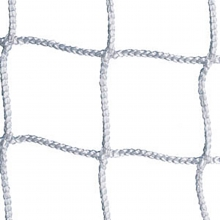 Jaypro 6.5' x 12' x 2' x 6' Soccer Nets, 3mm, WHITE, SCN-12 (pair)