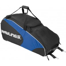 "Rawlings WHWB2 Workhorse Equipment Bag w/ Wheels, 37""L x 14""W x 16""H"
