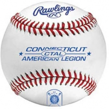 Rawlings CTAL Connecticut Official American Legion Baseballs, dz