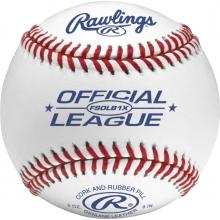 Rawlings FSOLB1X Flat Seam Official League Baseballs, dz
